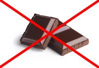 Шоколад запрещен