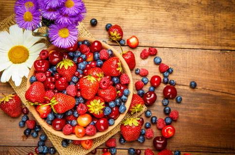 ягоды - продукты для детокс-диеты