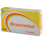 таблетки Флуоксетин