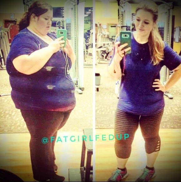 фотография похудения до и после