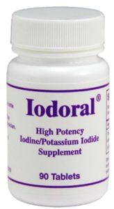 Таблетки Йодорал