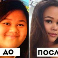 Как после похудения может изменится лицо
