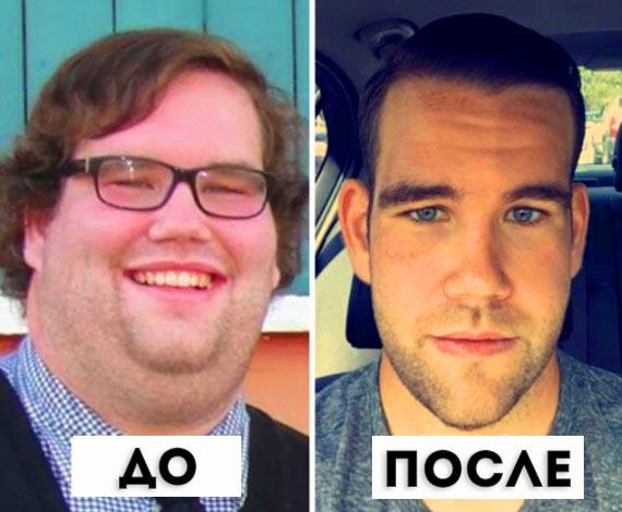 Человека не узнать, вот так преобразилось лицо после похудения