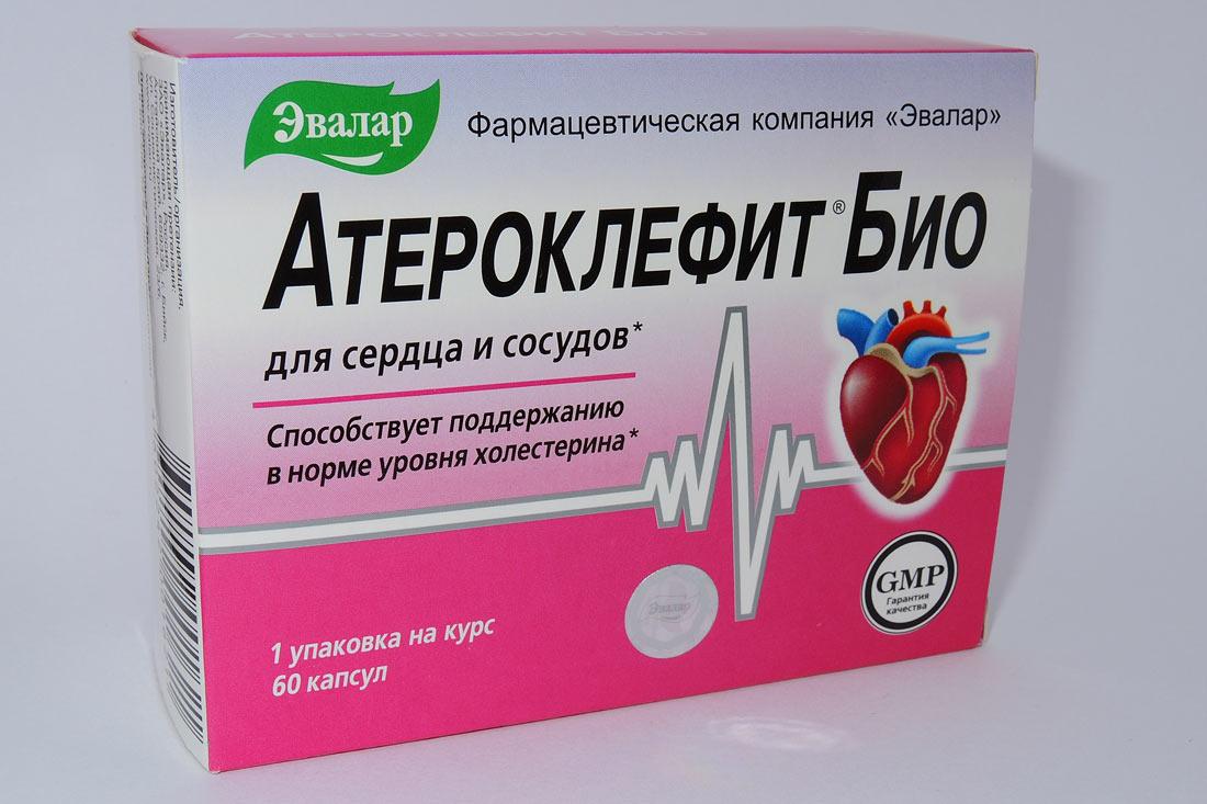 """Таблетки БАД """"Атероклефит Био"""""""