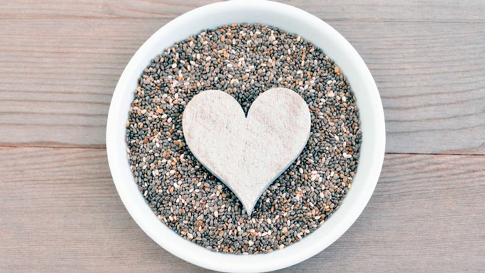 Семена чиа для сердца