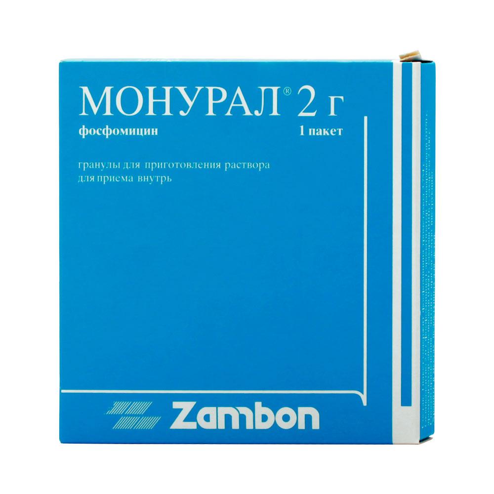 Монурал - состав препарата