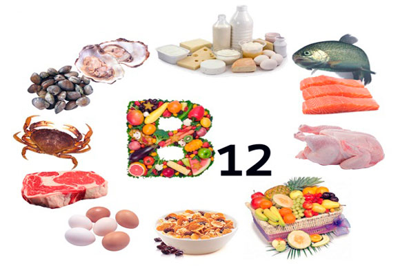 В каких продуктах сдержится витамин B12