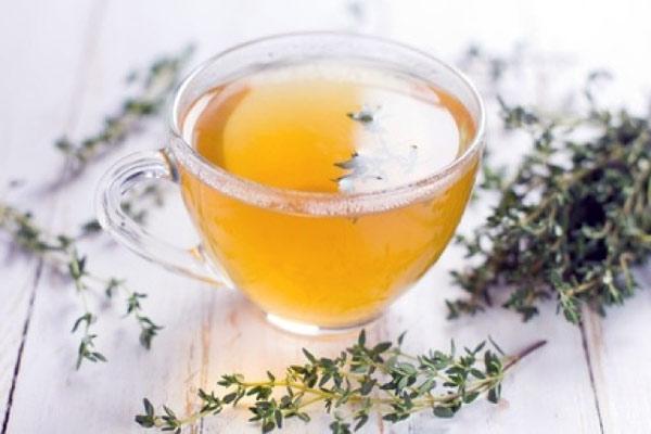 Чай и отвар из чабреца (тимьяна)