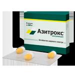 Миниаюра меню - Азитрокс