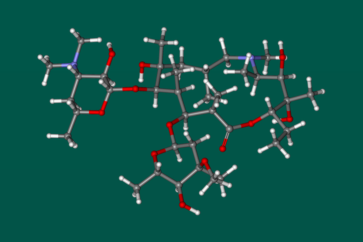 Структура Азитромицина