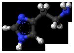 Структура гистамина
