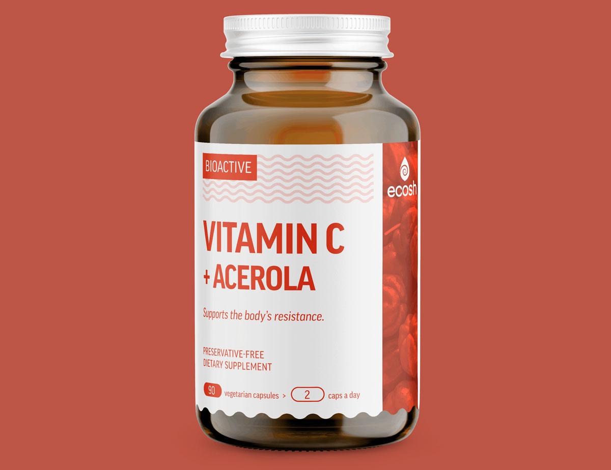 Ацерола в таблетках - витамин C
