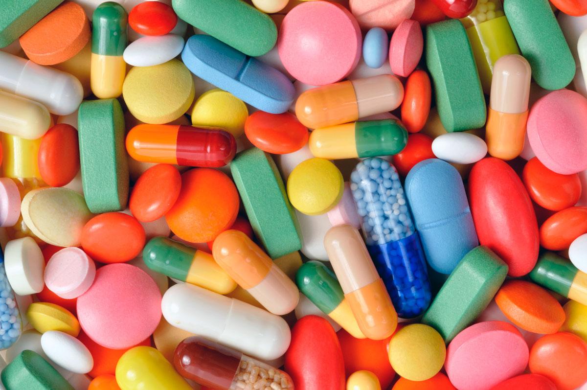 Витамины в таблетка, капсулах
