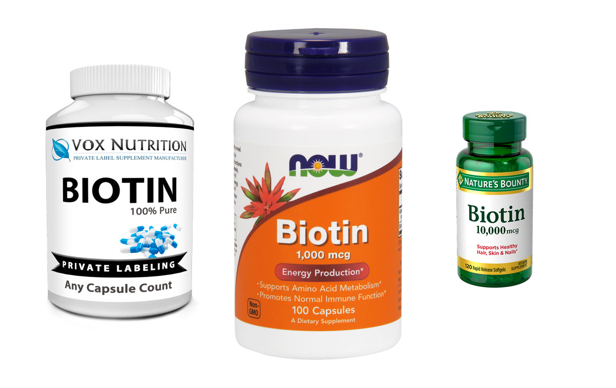 Биотин в таблетках и капсулах