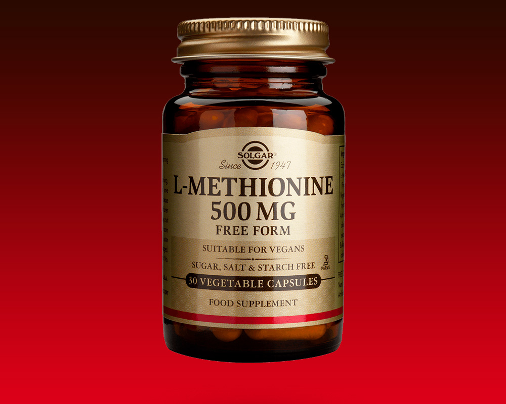 Биологически активная добавка L-METHIONINE Solgar