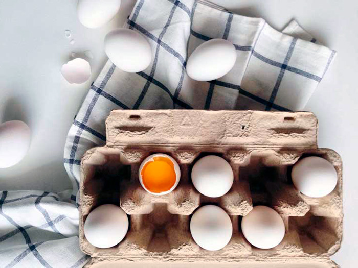 Метионин в яйцах